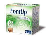 FontUp, nouvelle formule nutritionnelle avec extrait de thé vert contenant une quantité standard d'EGCG (250 mg) et riche en fibre